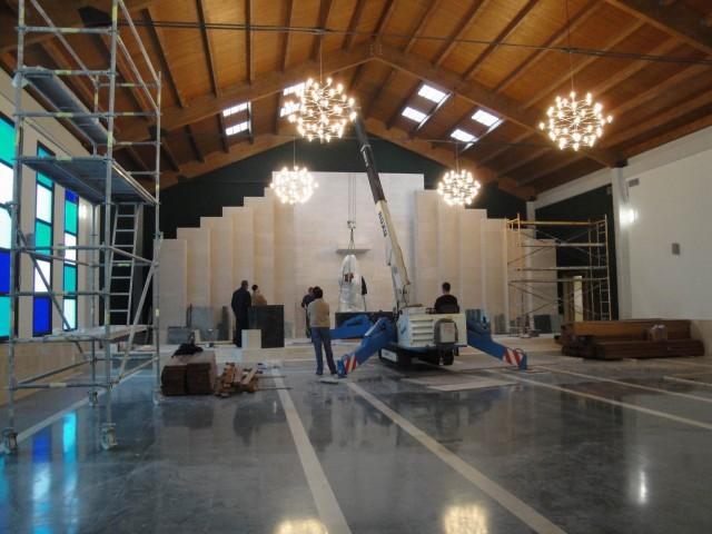 Construcciones vir centro parroquial buen pastor for Oficina de correos gijon
